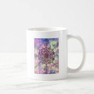 Caneca De Café Mandala da árvore da galáxia