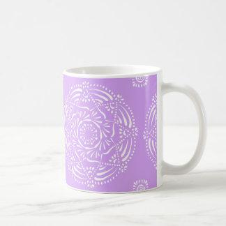 Caneca De Café Mandala da lavanda
