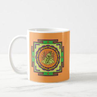 Caneca De Café Mandala de Ganesha