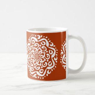 Caneca De Café Mandala do Henna