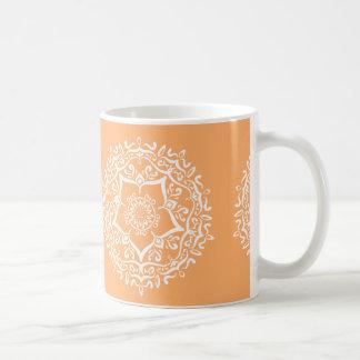 Caneca De Café Mandala do melão