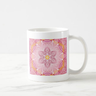 Caneca De Café Mandalas do coração de presentes da liberdade 1