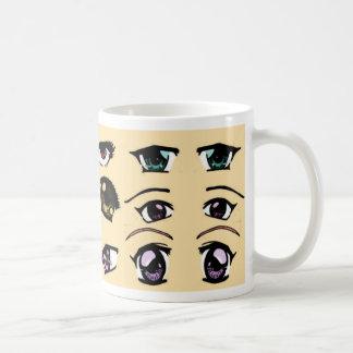 Caneca De Café manga eyes