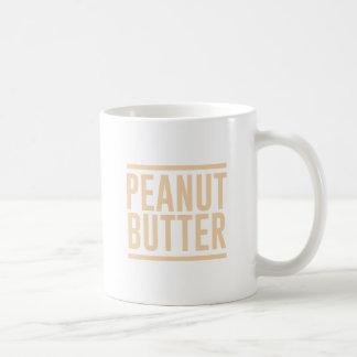 Caneca De Café Manteiga de amendoim