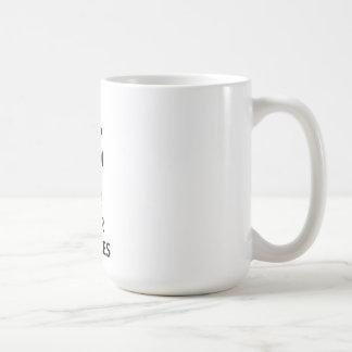 Caneca De Café Mantenha a calma e mencione suas fontes
