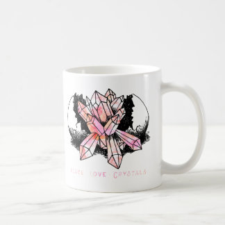 Caneca De Café Mão boémia trabalhos de arte de cristal tirados do