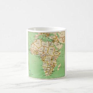 Caneca De Café Mapa de África (1966)