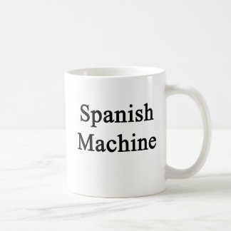 Caneca De Café Máquina espanhola