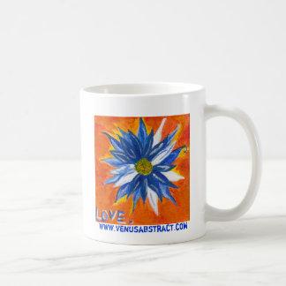 Caneca De Café Margarida azul