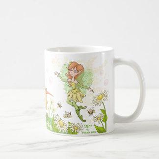 Caneca De Café Margarida de colinas da flor