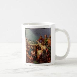 Caneca De Café Matthew 4 23, e Jesus foram aproximadamente todo o