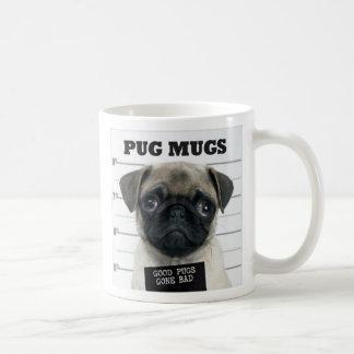 Caneca De Café mau do pug