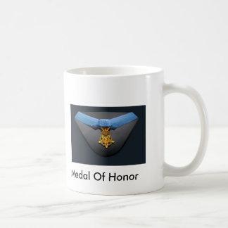 Caneca De Café Medalha de honra, medalha de honra