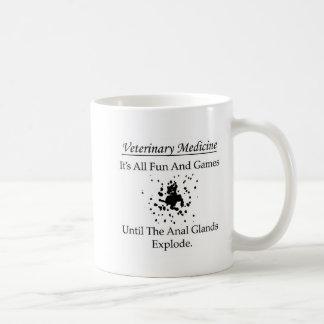 Caneca De Café Medicina veterinária - é todo o divertimento e
