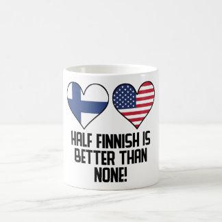 Caneca De Café Meio finlandês é melhor do que nenhuns
