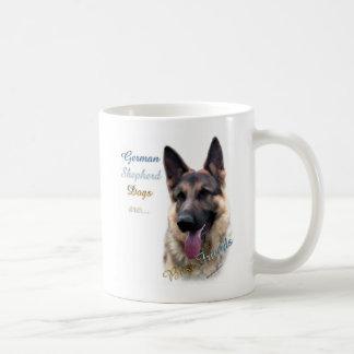 Caneca De Café Melhor amigo 2 do cão de german shepherd