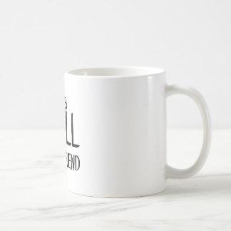 Caneca De Café Melhor amigo alto