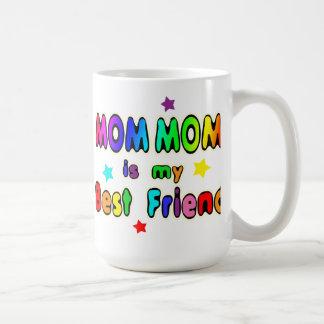 Caneca De Café Melhor amigo da mamã da mamã