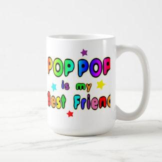 Caneca De Café Melhor amigo do pop do pop