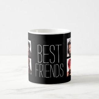 Caneca De Café Melhores amigos com 8 fotos