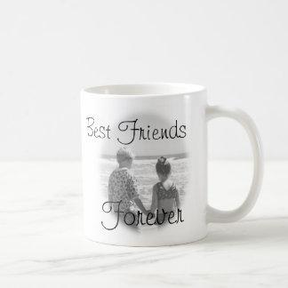 Caneca De Café Melhores amigos, para sempre