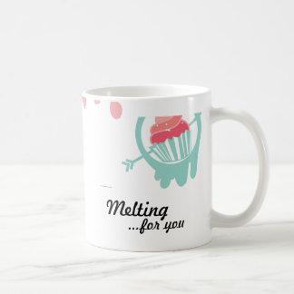 Caneca De Café Melting Cupcake