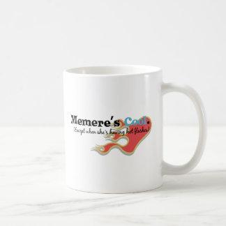 Caneca De Café Memere tem flashes quentes
