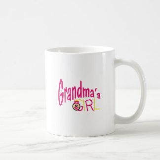 Caneca De Café Menina das avós