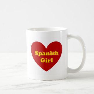 Caneca De Café Menina espanhola