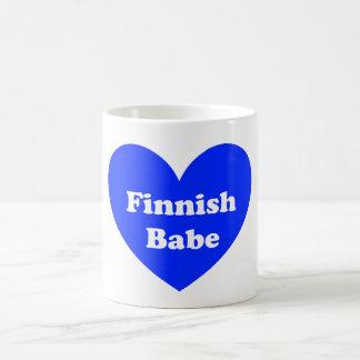 Caneca De Café Menina finlandesa