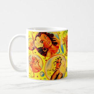 Caneca De Café meninas do encanto dos anos 40