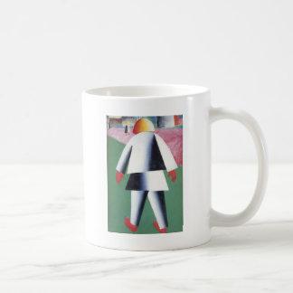 Caneca De Café Menino por Kazimir Malevich