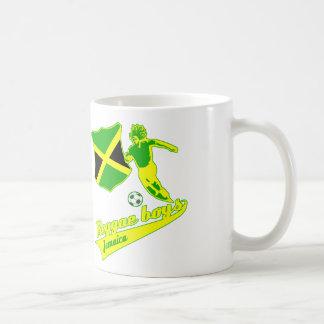 Caneca De Café Meninos jamaicanos da reggae