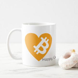 Caneca De Café Mensagem customizável do logotipo Mug| da forma do