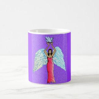 Caneca De Café Mercadoria de cristal do anjo