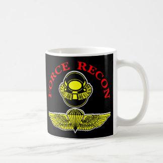 Caneca De Café Mergulhador Recon Jumpblack da força