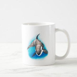 Caneca De Café Mergulho profundo da orca