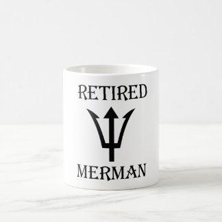 Caneca De Café Merman aposentado