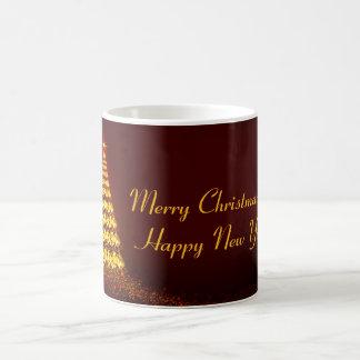 Caneca De Café Merry Christmas and Happy Year New!