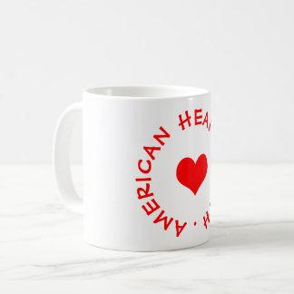 Caneca De Café Mês americano do coração
