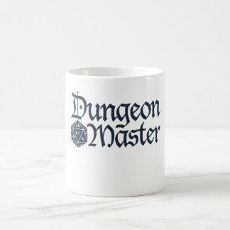 Caneca De Café Mestre do Dungeon