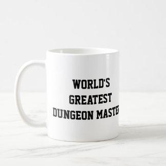 Caneca De Café Mestre do Dungeon do mundo o grande