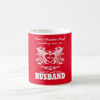 Caneca De Café Meu anjo-da-guarda, meu marido