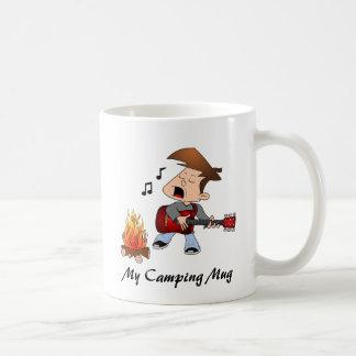 Caneca De Café Meu Caneca-Homem de acampamento