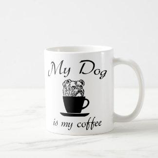 Caneca De Café Meu cão é meu café