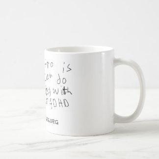 Caneca De Café Meu copo da divisa