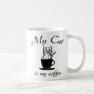 Caneca De Café Meu gato é meu café