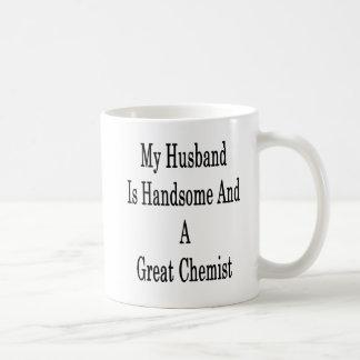 Caneca De Café Meu marido é considerável e um grande químico