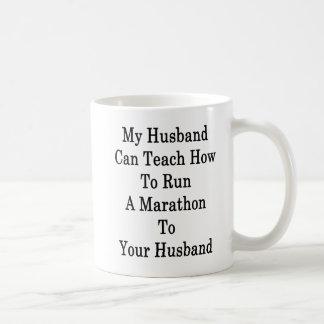 Caneca De Café Meu marido pode ensinar como funcionar uma
