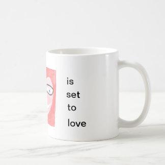 Caneca De Café meu perfil é ajustado para amar
